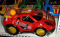 Инерционная машина,  пластмассовая, спортивная, гоночная., фото 1