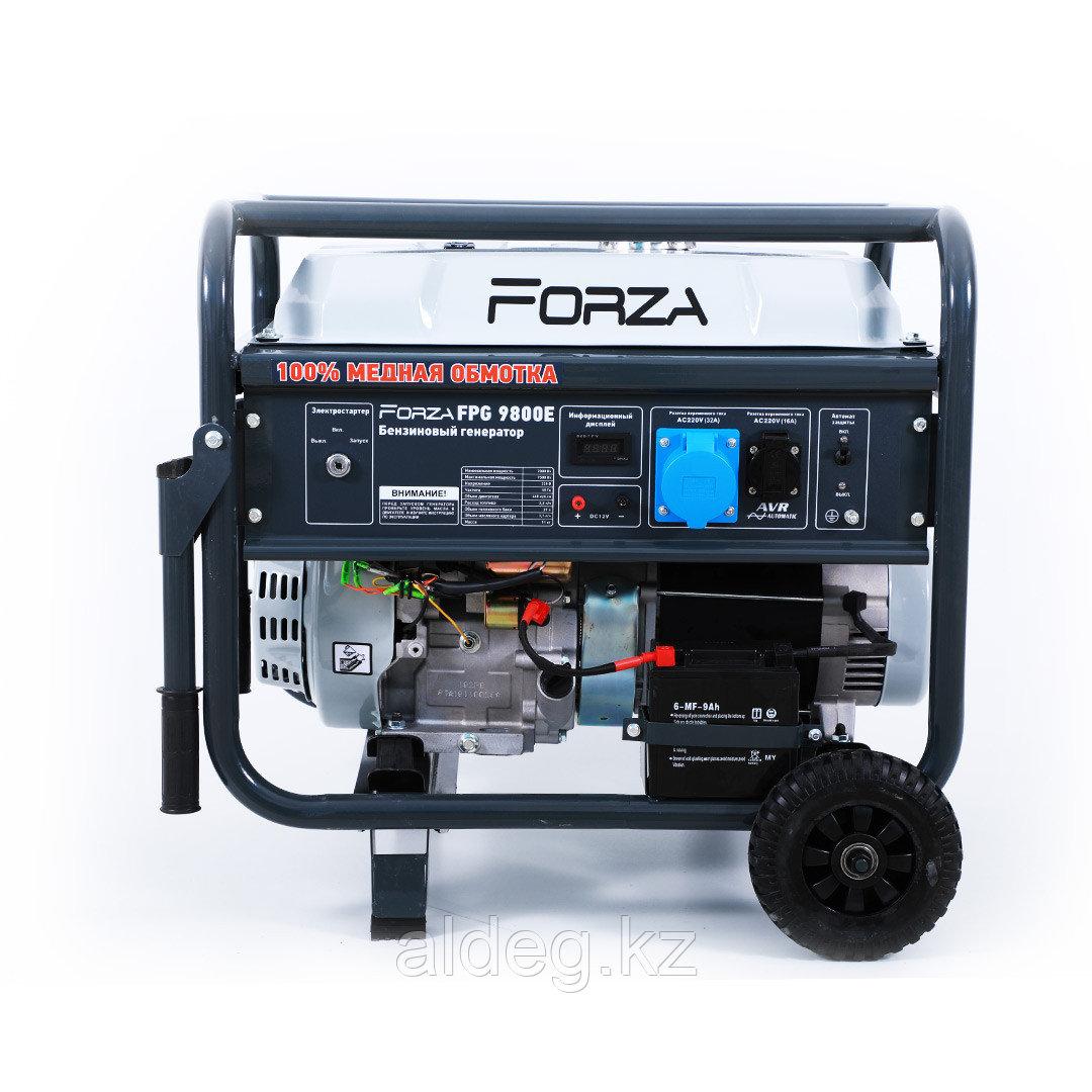Генератор бензиновый FORZA FPG9800E+АTS