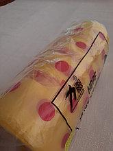 Пакеты в рулоне с ручкой, желто-красный