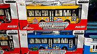 Металлическая моделька автобуса, музыка, свет., фото 1