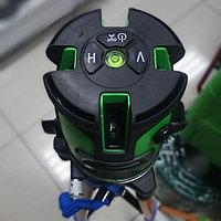 Лазерный уровень 5луч + штатив (Зеленый луч)
