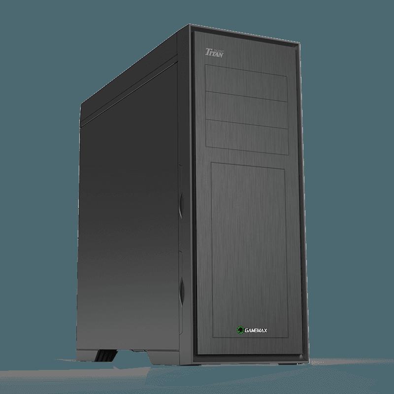 Корпус ПК без БП GameMax Titan Silent M905S (ATX, 0.5mm) Titan Silent M905S