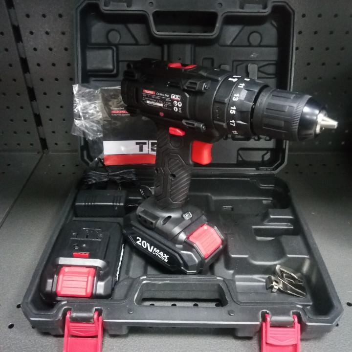 Аккумуляторный шуруповерт TEH TDL1220T (20в)