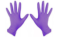 Перчатки L Ю 100шт нитрил фиолетовые Unex