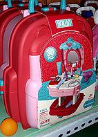 Игровой набор с косметикой для девочек. Трюмо. 2в1, фото 1