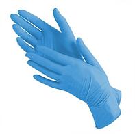 Перчатки нитриловые, нестерильные, неопудреные размер:S, М, L