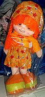 Кукла девочка Карамелька в красивом платье, мягкая., фото 1