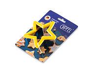 Форма для нарезания теста для печенья в форме звезды, 0365 gipfel 10х3см. Материал: нерж. сталь, силикон