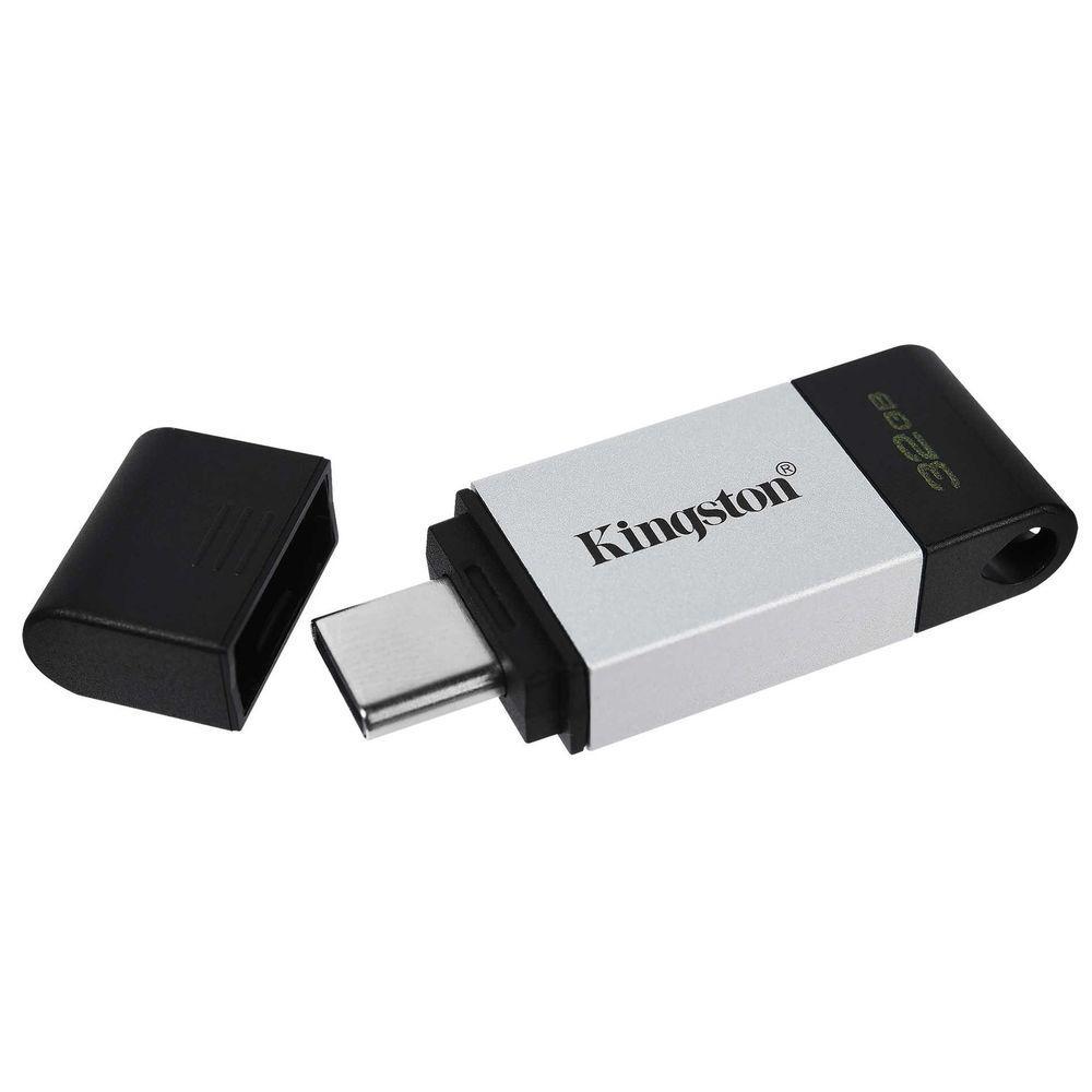 USB Флеш 128GB 3.0 Kingston DT80/128GB металл