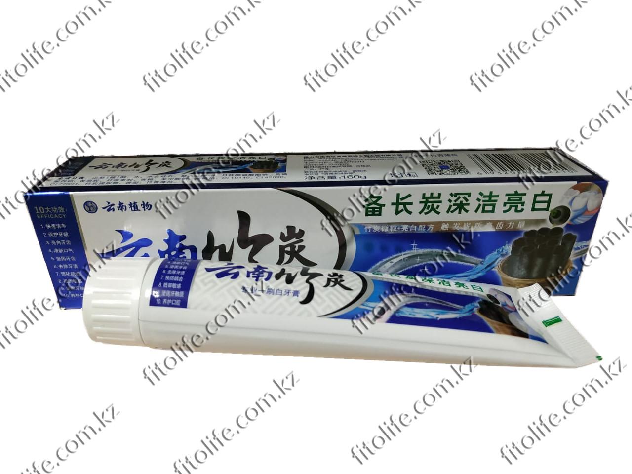Зубная паста на основе бамбукового угля