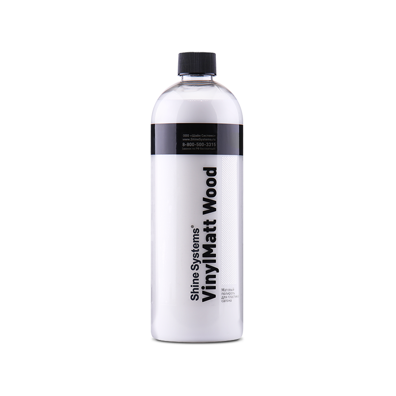 VinylMatt Wood – матовый полироль для пластика салона (750 мл)
