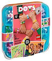 LEGO возраст 6+ : Большой набор для создания браслетов DOTs 41913