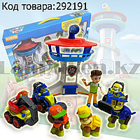 Набор фигурок игровой для детей из серии Щенячий патруль - Мини-офис спасателей 8 фигурок в комплекте