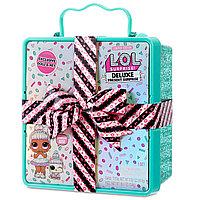 Лол сюрприз коробка с Бантом бирюзовый LOL Surprise Deluxe Present Surprise