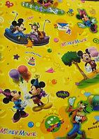Развивающий коврик рулонный Микки Маус толщина 10мм Юрим