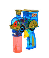 Пистолет для выдувания мыльных пузырей Attivio Паровозик +2 бутылочки 60 мл P8638