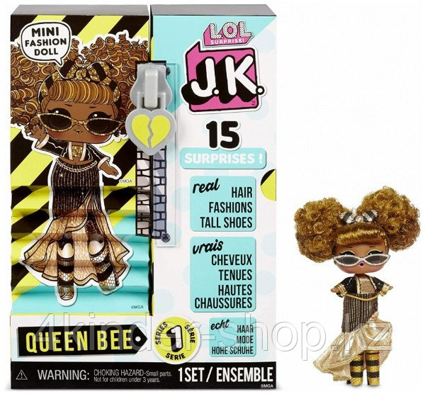 Кукла LOL Surprise Queen Bee Mini Fashion Doll - фото 1