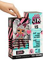 LOL Сюрприз! Мини-кукла JK Diva с 15 сюрпризами