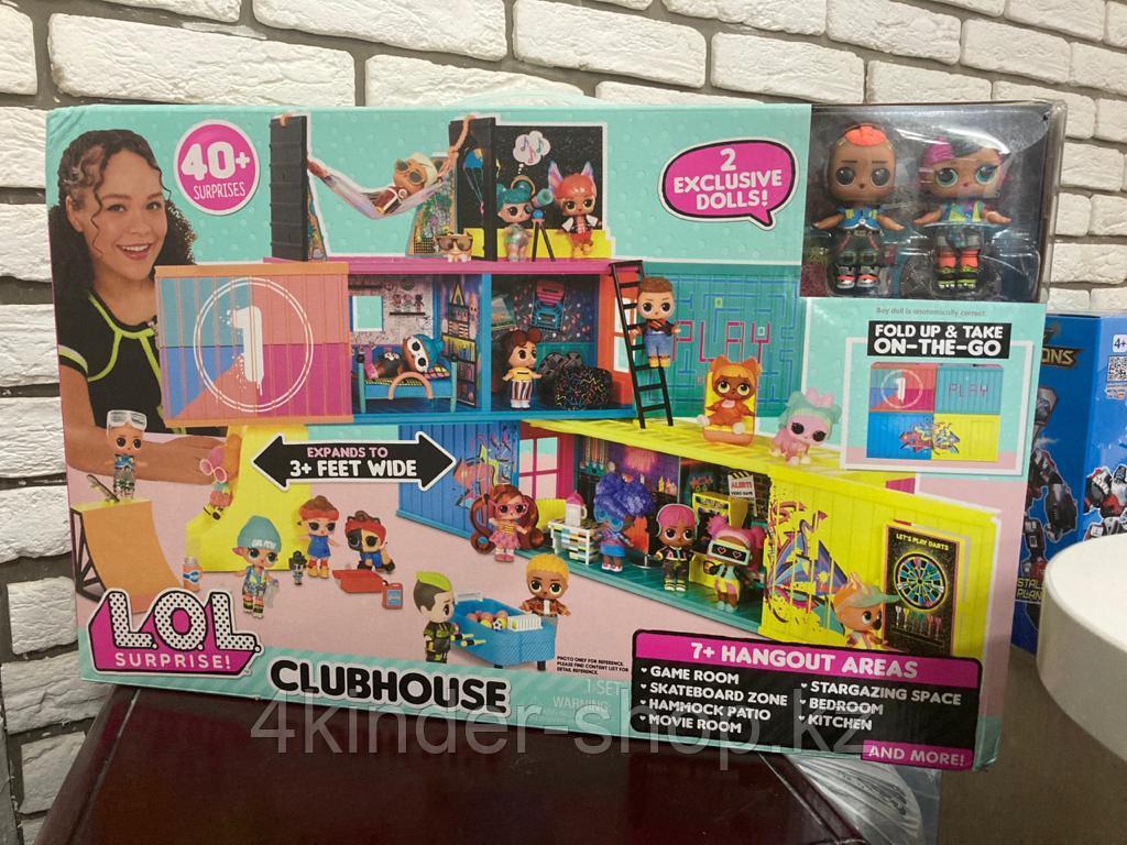 Клубный домик ЛОЛ Сюрприз LOL Surprise Clubhouse Playset - фото 1