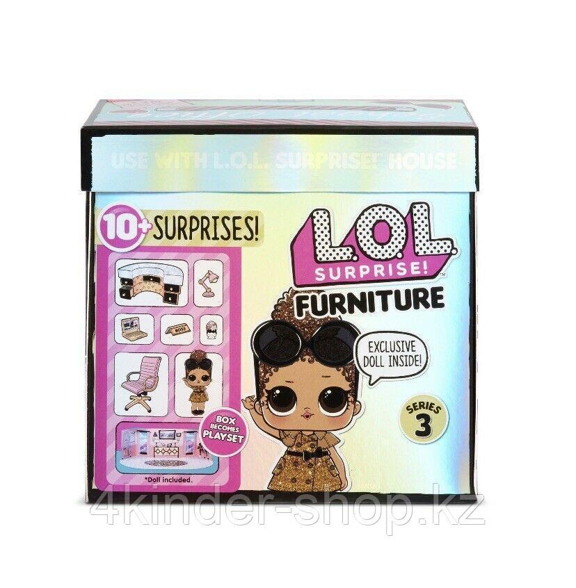 LOL Surprise ЛОЛ Сюрприз мебель с куклой босс Королева - фото 1