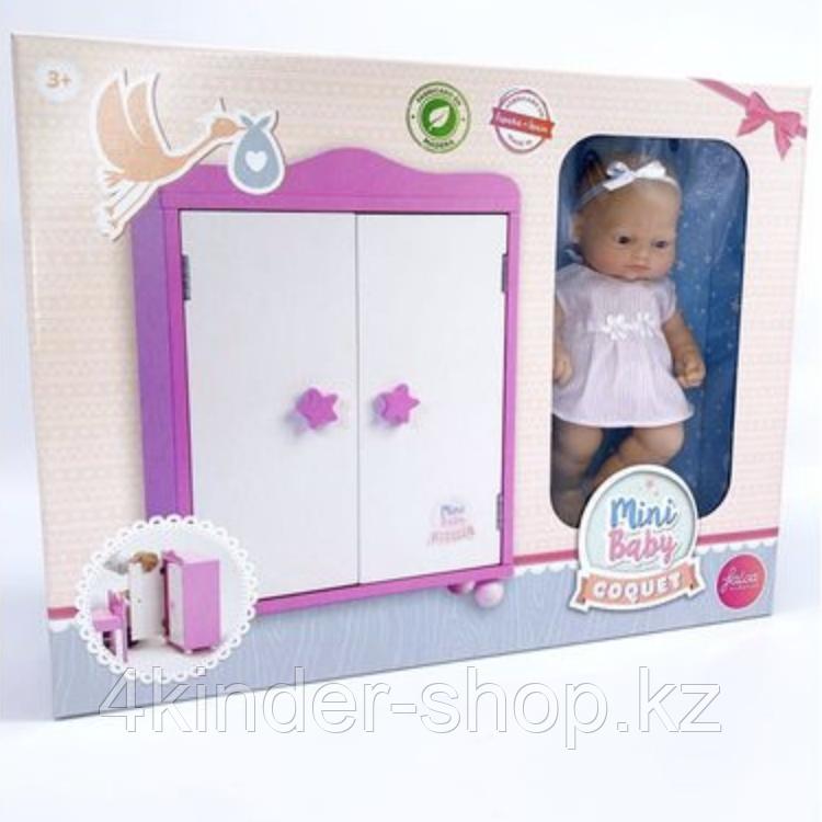 Кукла 28 CM с шкафом - фото 3