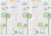 "Портативный коврик Portable ""Веселая прогулка"", 140x200x1.0 см"