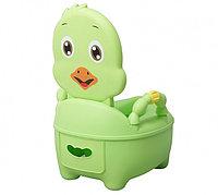 Детский горшок Pituso Цыпленок зеленый