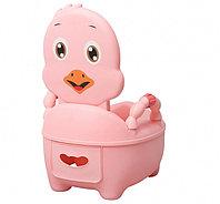 Детский горшок Pituso Цыпленок розовый