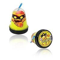 Тянущийся слайм Slime *Ninja*, Смешивай цвета 2 в 1, Желтый, Красный, 130 гр