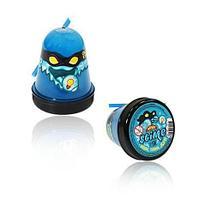 Тянущийся слайм Slime *Ninja*, синий, светится в темноте, 130 гр