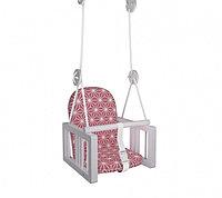 Качели подвесные Гном LiLu розовый