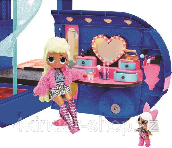 Новый синий Автобус ЛОЛ LOL Surprise OMG Remix 4-в1 Glamper - фото 5