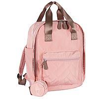Chicco: Сумка-рюкзак для мамы розовая 2020 Осень-Зима