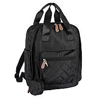 Chicco: Сумка-рюкзак для мамы черная 2020 Осень-Зима