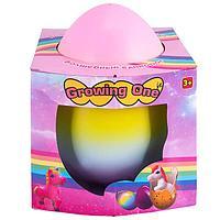 Growing One TAV046 Яйцо с единорогом, растущим в воде, огромное