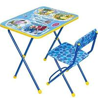 Набор мебели Ника Маленькими принцессами (стол+мягкий стул)