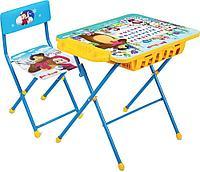 Набор мебели Ника КУ2П Маша и Медведь стол+мягкий стул Азбука 2