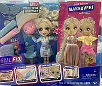 Набор Салон Fail Fix с куклой 2Dream 2 наряда Moose Toys