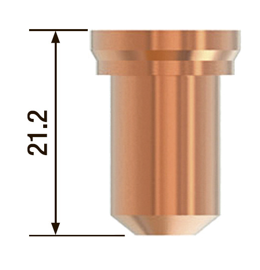 FUBAG Плазменное сопло 1.2 мм/60-70А для FB P80 (10 шт.)