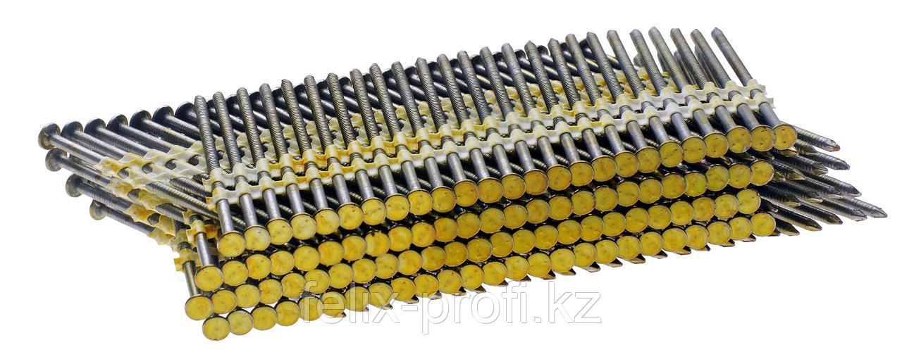 FUBAG Гвозди для N90 (O2.87, 90 мм, кольцевая накатка, 3000 шт)
