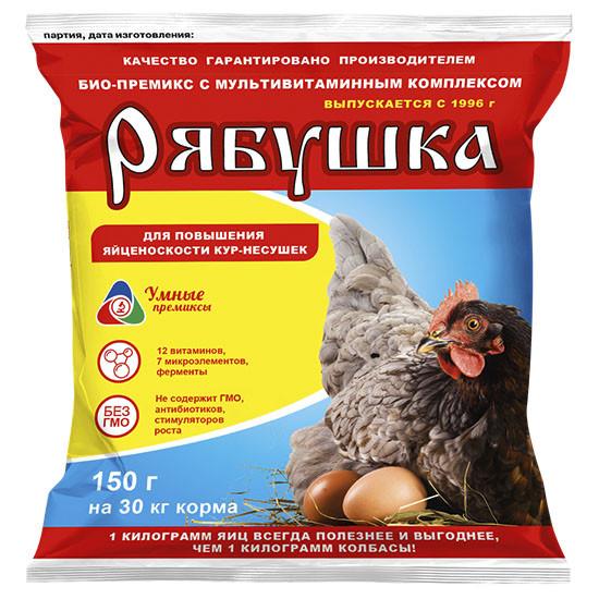 Премикс Рябушка 150 грамм на 30кг корма