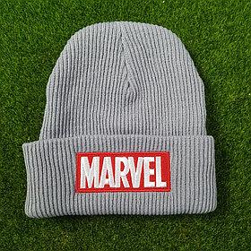 Шапка Марвел - Marvel (серая)