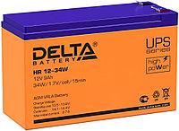 Аккумулятор Delta HR 12-34W (9 Ач)