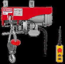 Тельфер электрический Зубр ЗЭТ-1000