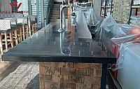 Столешница акриловый камень барная стойка под черный гранит
