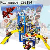 Набор игровой для детей из серии Щенячий патруль - Полицейский участок многоуровневый с лифтом и горками