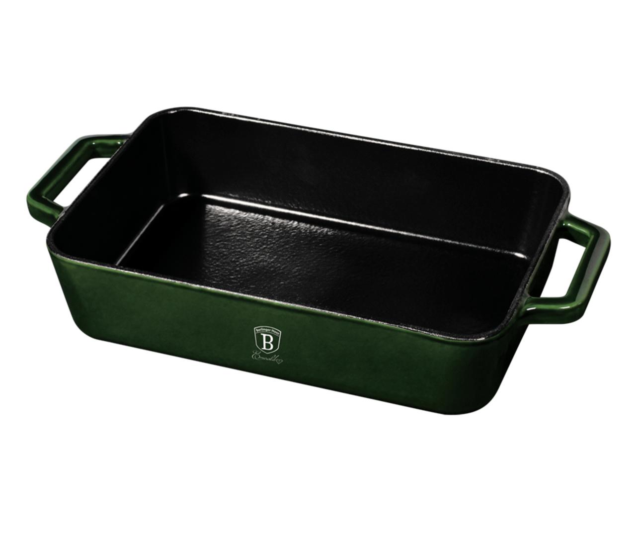 Чугунный ростер 30x20x7 см Berlinger Haus Metallic Line Emerald Edition BH-6506