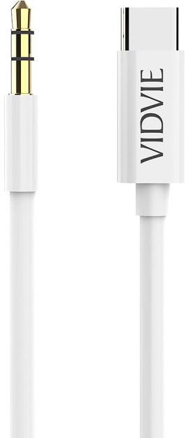 Кабель AUX Vidvie AL1109 White