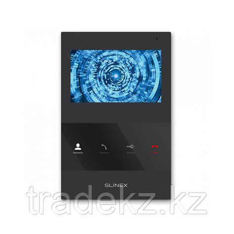 Монитор домофона цветной SLINEX SQ-04, черный, фото 2