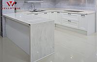 Столешница акриловый камень на кухню под мрамор